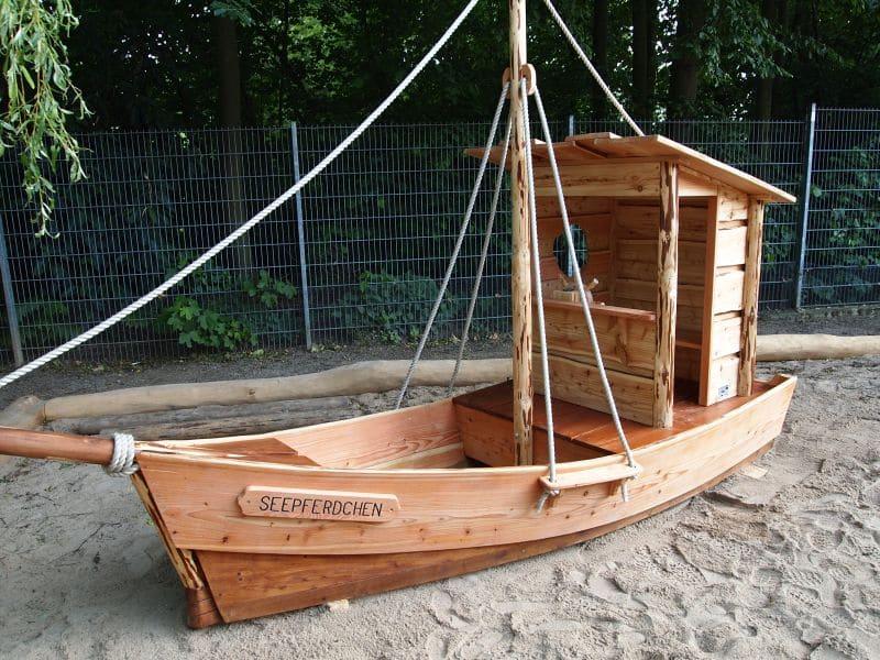 Spielschiff Seepferdchen