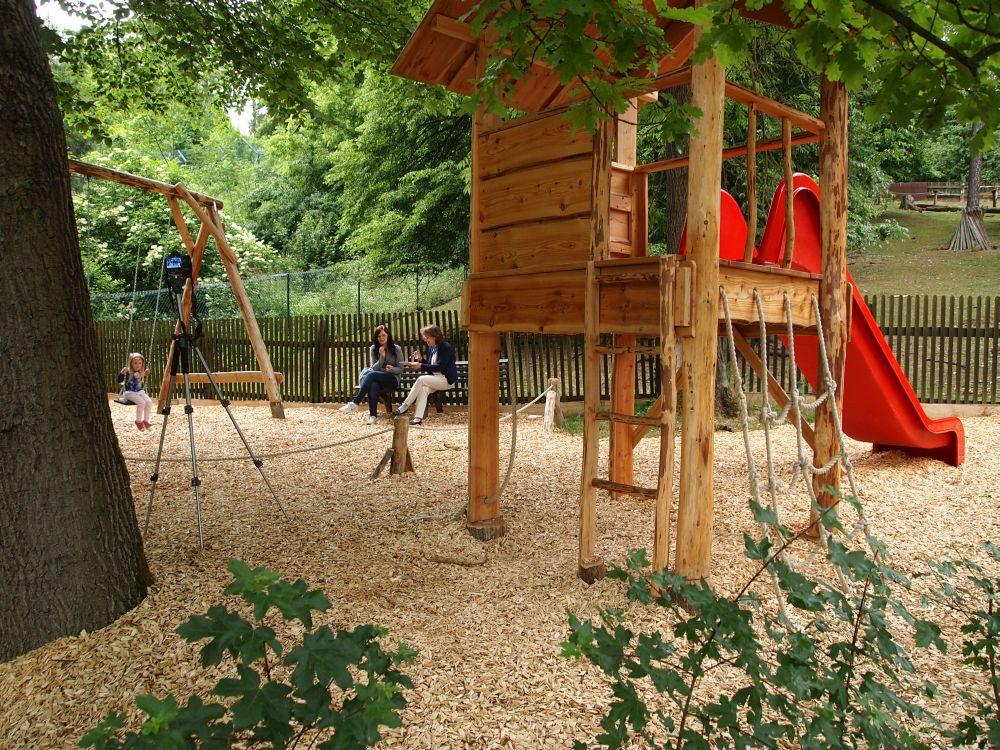 Spielpodest Naturholz